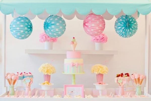4 fiestas infantiles para ni as muy originales pequeocio - Decoracion cumpleanos bebe 1 ano ...