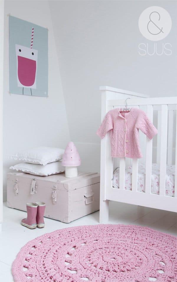 7 habitaciones para beb s sencillas y modernas pequeocio - Alfombra habitacion nina ...