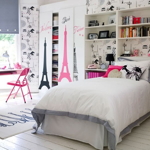 6 dormitorios juveniles muy originales pequeocio for Habitaciones juveniles chica