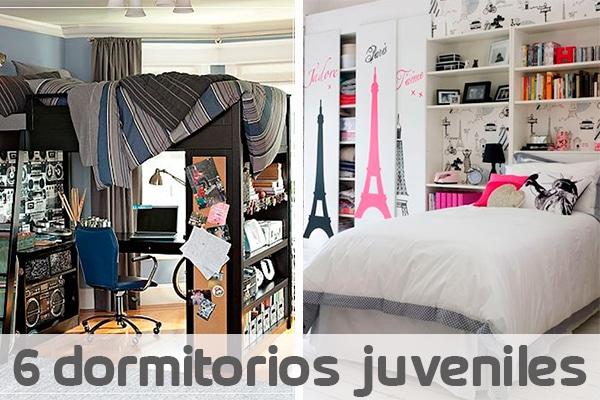 6 dormitorios juveniles ¡muy originales! | Pequeocio.com