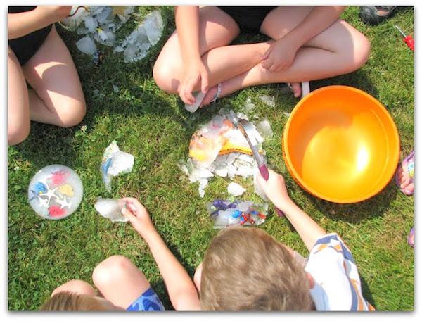 manualidades infantiles para el verano