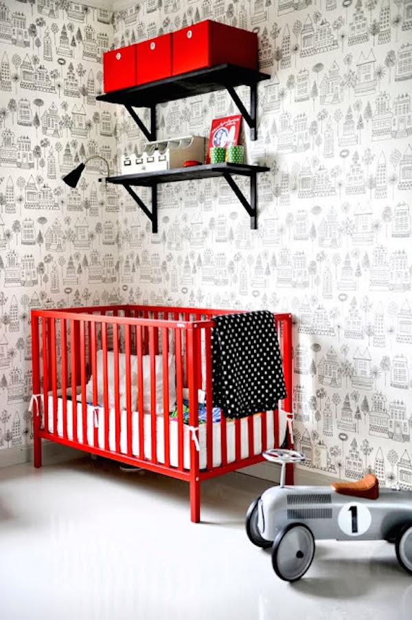 habitaciones para bebés diferentes