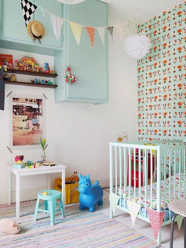 7 habitaciones para beb s sencillas y modernas pequeocio - Habitaciones para bebes ...