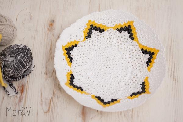cómo hacer un cuenco con Hama Beads