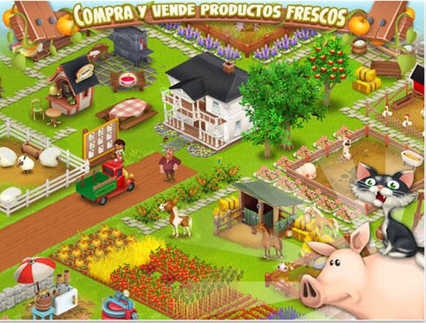 hay day gestiona una granja con esta app infantil. Black Bedroom Furniture Sets. Home Design Ideas