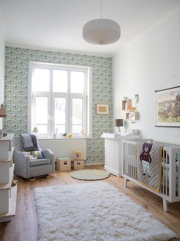 7 habitaciones para beb s sencillas y modernas pequeocio - Habitaciones de ninos pintadas ...