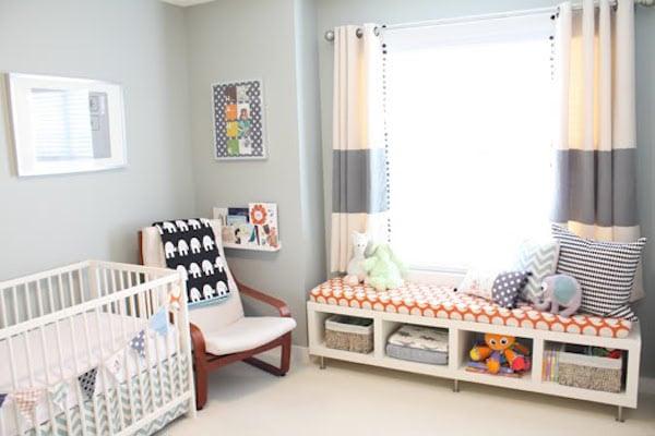 7 habitaciones para beb s sencillas y modernas pequeocio - Ideas decoracion habitacion infantil ...