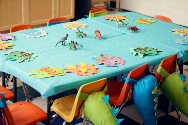 fiesta de cumpleaos de dinosaurios