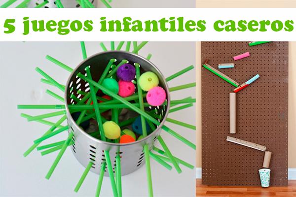 5 Juegos Infantiles Caseros Pequeocio Com
