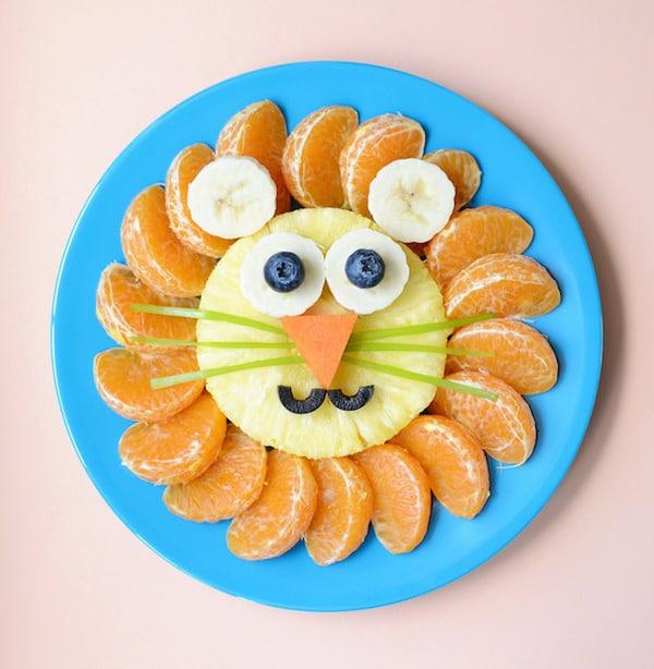 Resultado de imagen de formas con frutas para niños