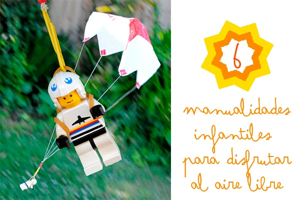 Manualidades infantiles para disfrutar al aire libre - Actividades para ninos al aire libre ...