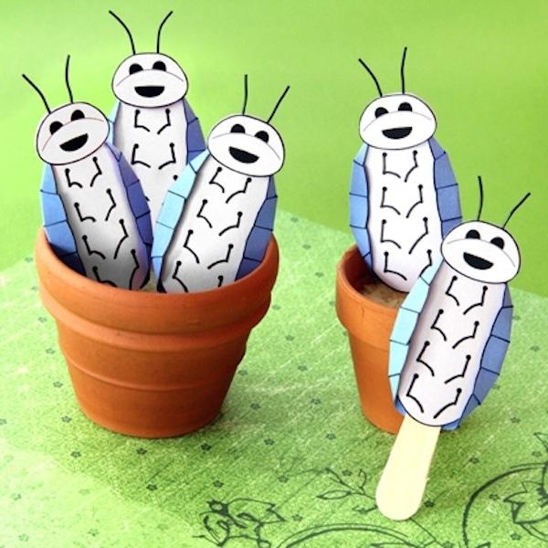 6 manualidades infantiles de insectos amigables  Pequeocio