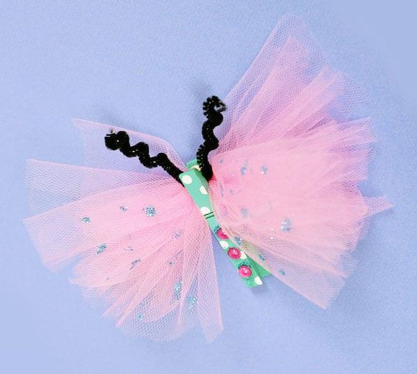 mariposas de pinzas para la ropa