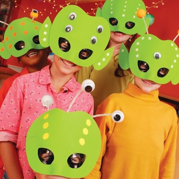 Alien Masks Craft