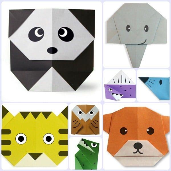 6 manualidades con papel origami para ni os pequeocio - Manualidades pequeocio ...
