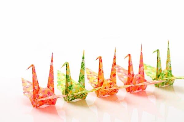 Pajaritas de origami