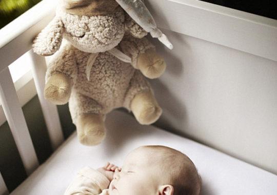 Peluches Cloud b, ¡regalo original que arrulla al bebé!