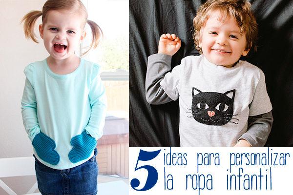 ideas para personalizar la ropa infantil