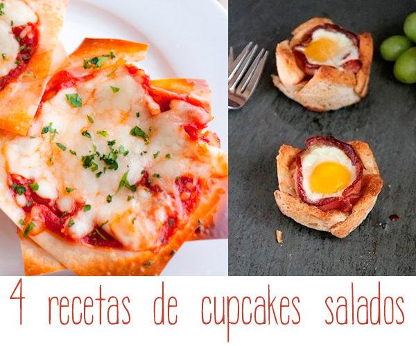 Recetas para niños de cupcakes salados