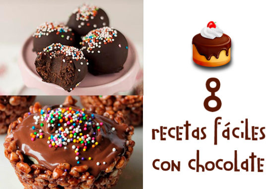 Recetas fáciles con chocolate