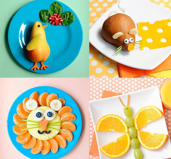 Recetas Para Niños Fruta Divertida Pequeocio Com