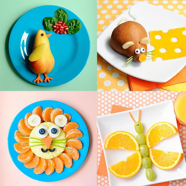 Recetas para ni os fruta divertida for Platos faciles de cocinar