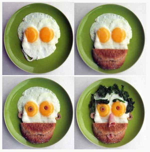 Recetas con huevo para niños