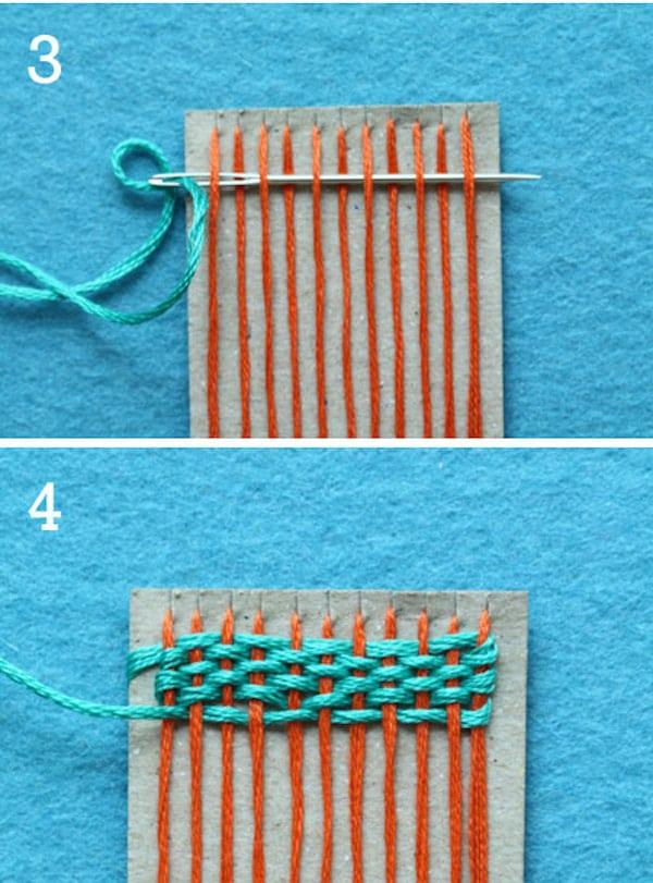 Ideas para tejer con los ni os pequeocio - Como hacer punto de lana para principiantes ...