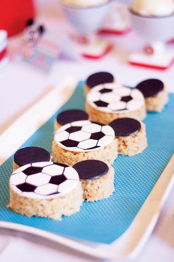 recetas infantiles de fútbol