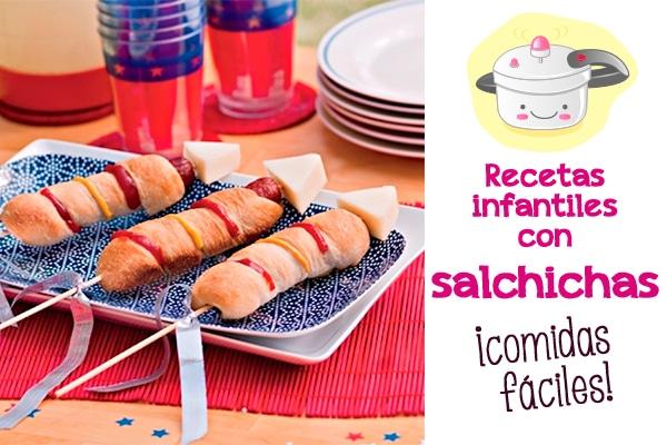 Salchichas 6 recetas divertidas pequeocio for Comidas originales