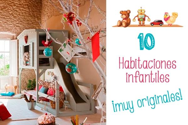 10 habitaciones infantiles muy originales pequeocio for Cuartos de ninas feos