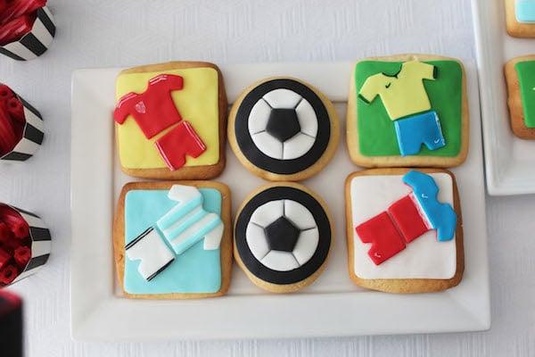 galletas del mundial de fútbol