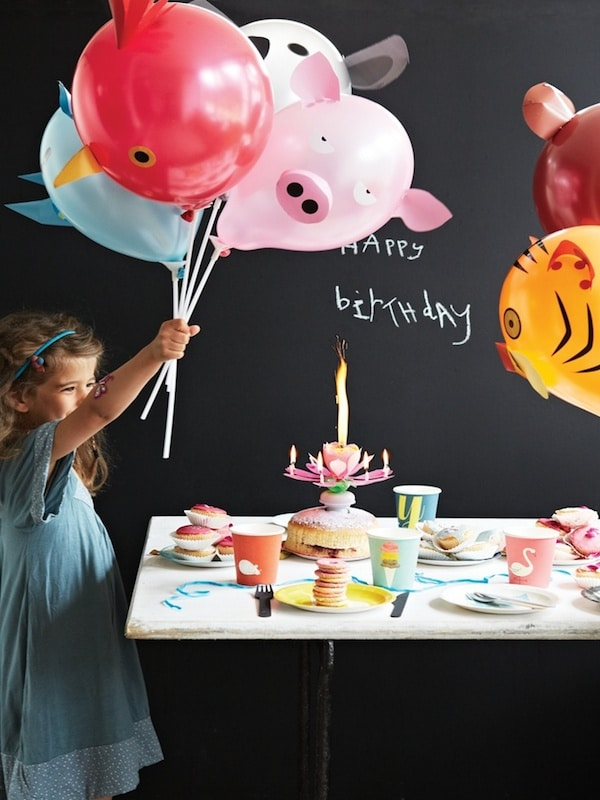 globos decorados para fiestas infantiles