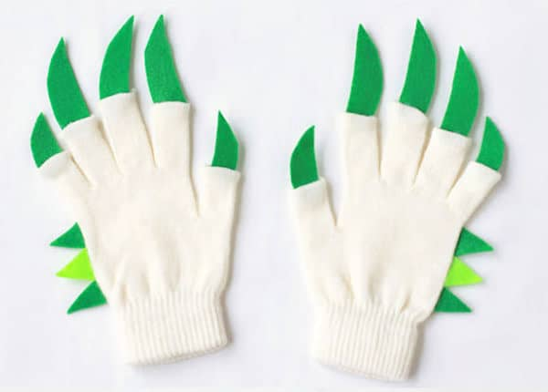 Manualidades con guantes viejos