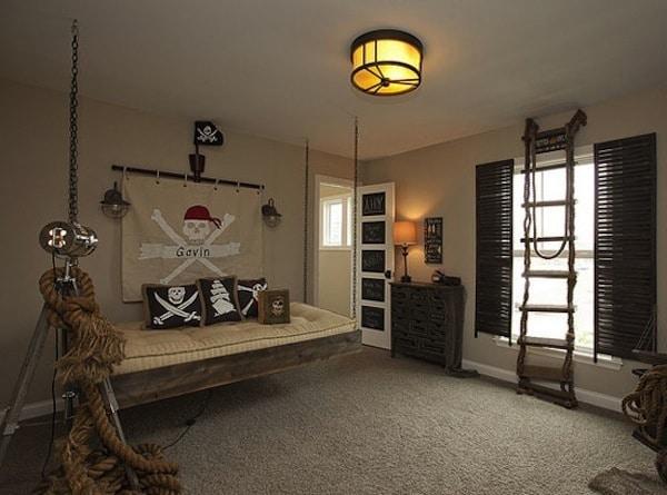 dormitorios infantiles de piratas