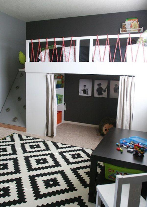 habitaciones para niños deportivos