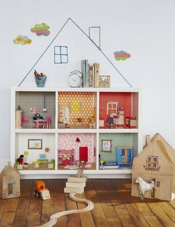 Muebles infantiles 9 ikea hacks de estanter as pequeocio - Estanterias para casa ...