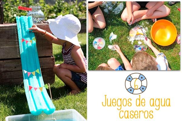 6 Juegos De Agua Caseros Pequeocio Bloglovin