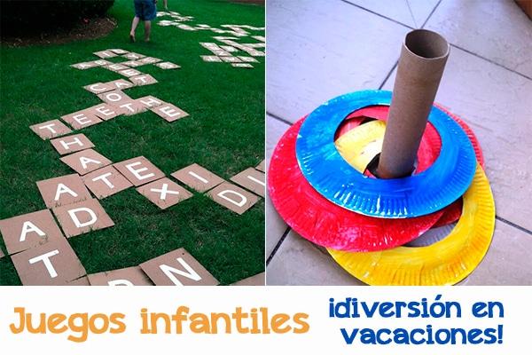 Juegos infantiles, ¡diversión en vacaciones! - Pequeocio
