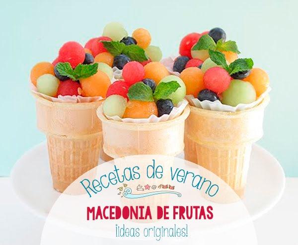 Recetas de verano macedonias de frutas originales - Macedonia de frutas para ninos ...