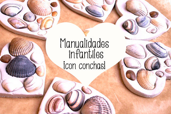 Manualidades infantiles con conchas