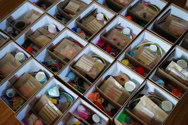 Manualidades recicladas el juego de las esculturas - Manualidades para la casa recicladas ...