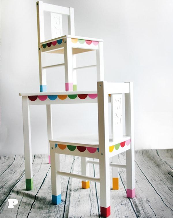 4 muebles infantiles personalizados pequeocio for Vinilos muebles infantiles
