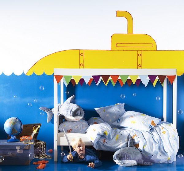 Murales Y Vinilos 10 Ideas Para Habitaciones Infantiles Pequeocio Com
