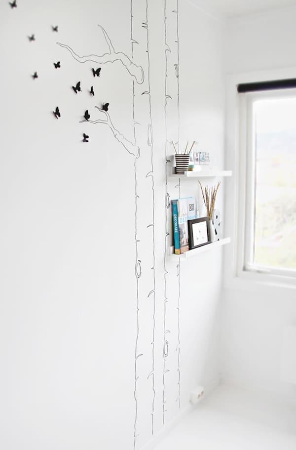Decoracion Arbol Pared ~ Murales y vinilos, 10 ideas para habitaciones infantiles  PequeOcio