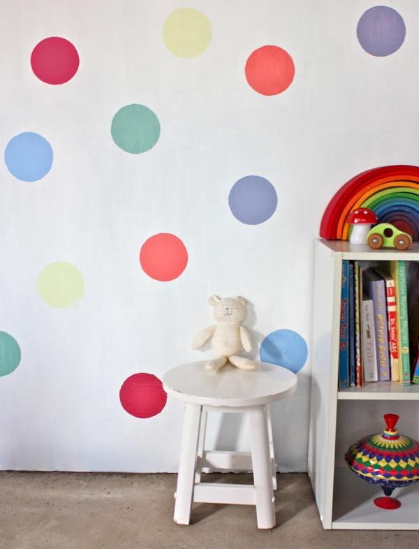 cómo hacer murales con stencil