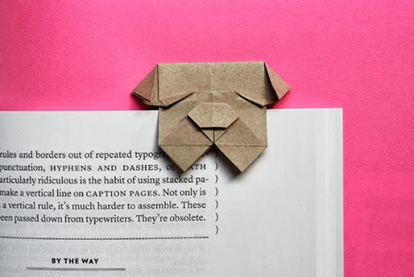 marcapáginas origami para niños