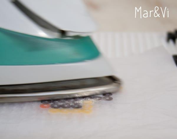 Cómo planchar las Hama Beads
