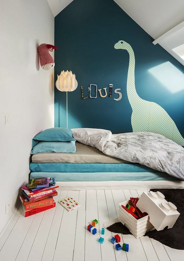 Murales y vinilos 10 ideas para habitaciones infantiles - Ideas pintar habitacion infantil ...