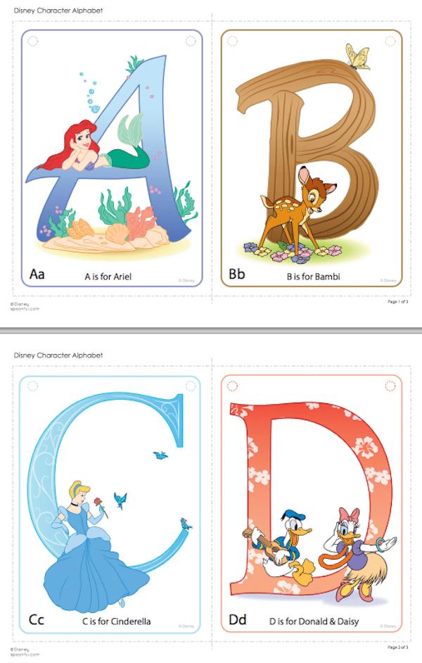 Abecedario infantil ¡5 opciones para imprimir gratis! | Pequeocio.com